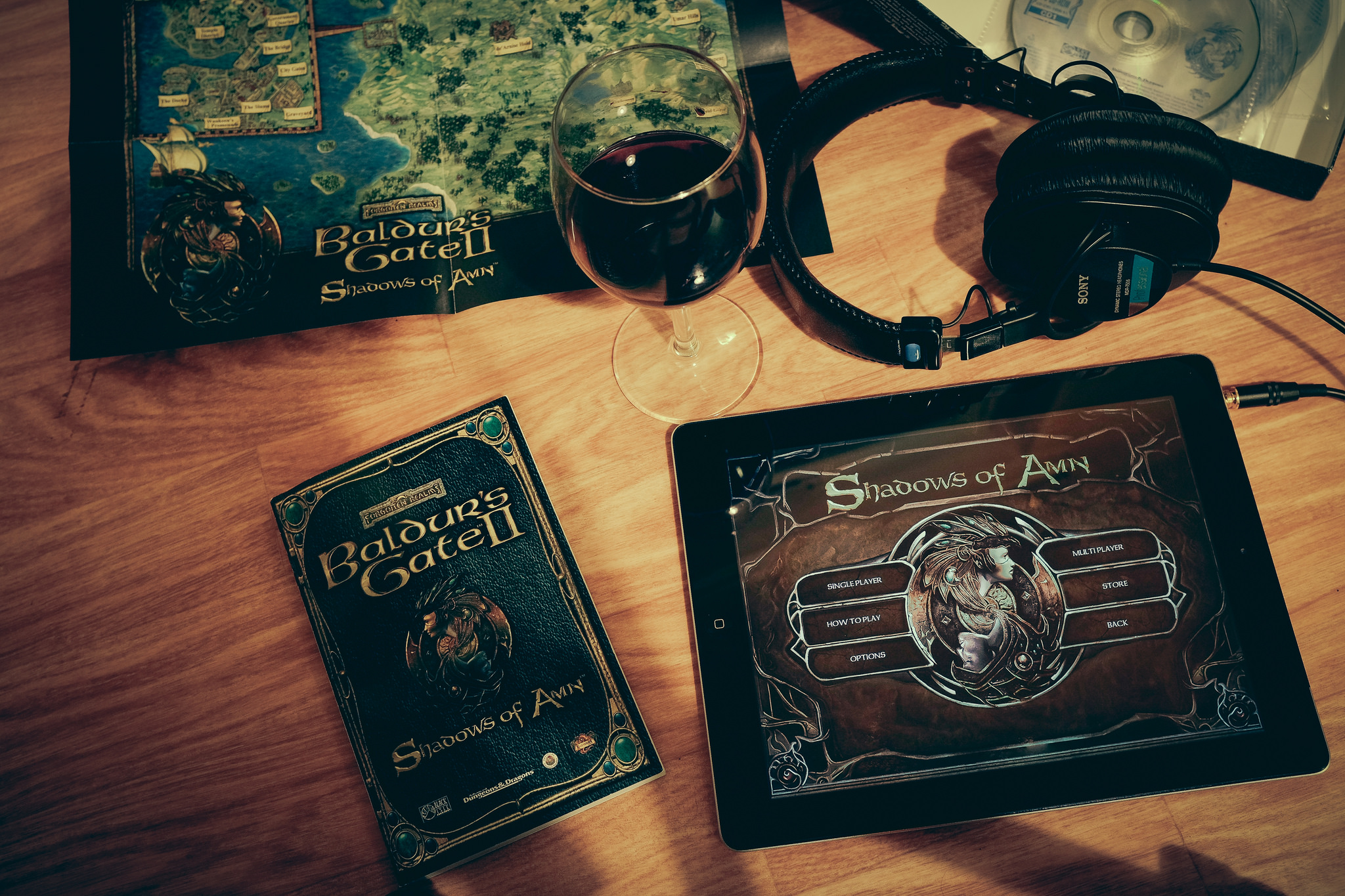 Baldur's Gate is one of the best games to play on your phone ... photo by CC user johanl on Flickr