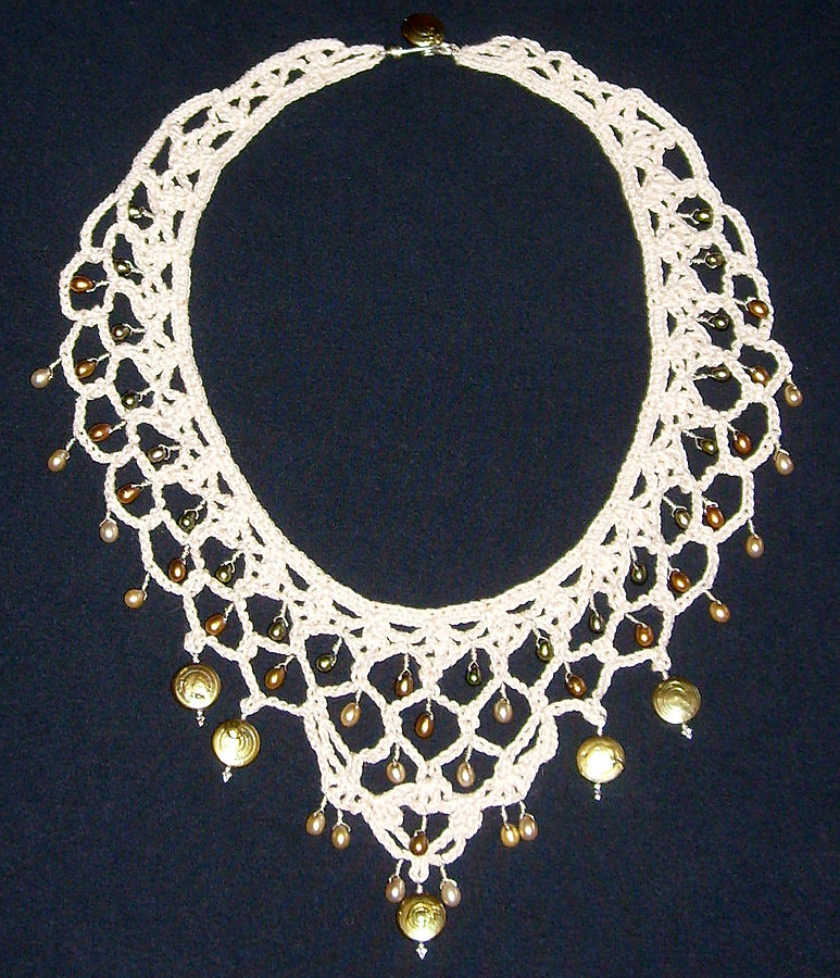 One of the key fashion tips for spring: big necklaces are in ... photo by CC user Durova on Flickr