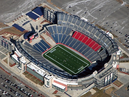 NFL odds make games at stadiums like this ones far more exciting...