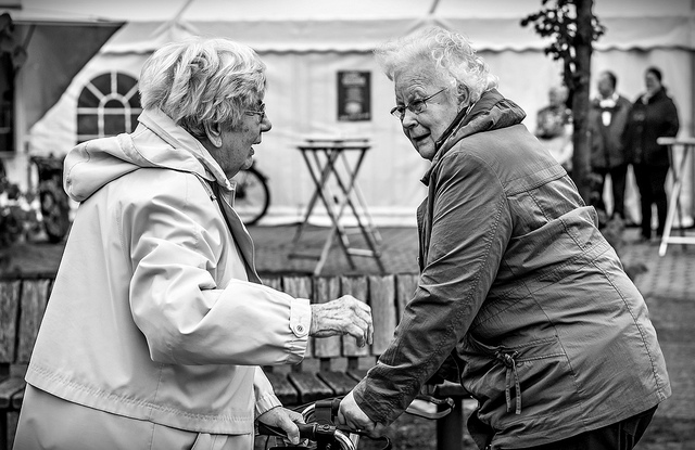 Figuring out elderly care costs is vital to your peace of mind ... photo by CC user mistergc on Flickr