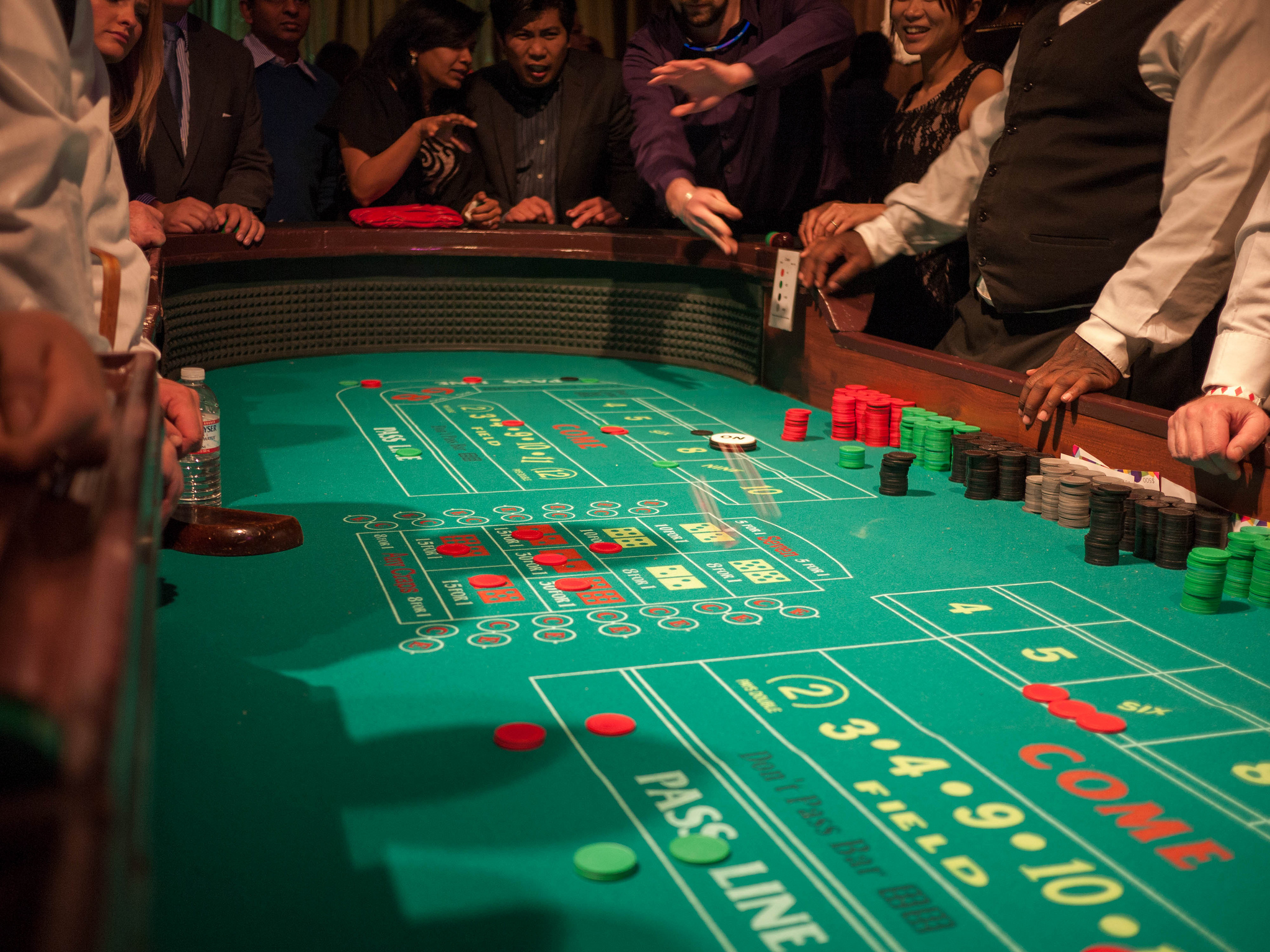 What online games have the best odds? Craps can have a miniscule house edge ... photo by CC user cjmartin on Flickr
